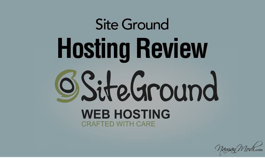 Hosting  Siteground Quality