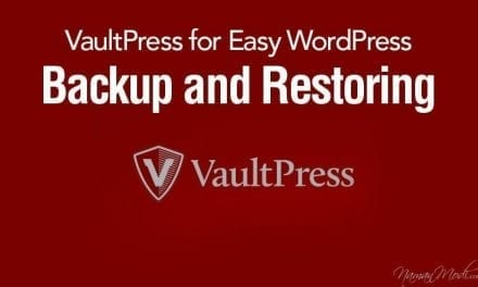 VaultPress for Easy WordPress Backup and Restoring