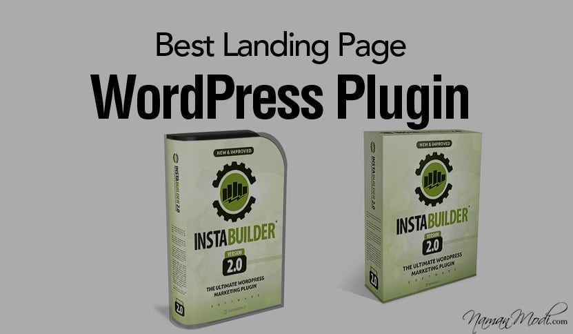 InstaBuilder Review Best Landing Page WordPress Plugin NamanModi