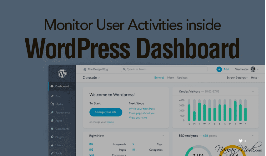 How to Monitor User Activities inside WordPress Dashboard