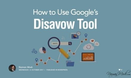 How to Use Google's Disavow Tool