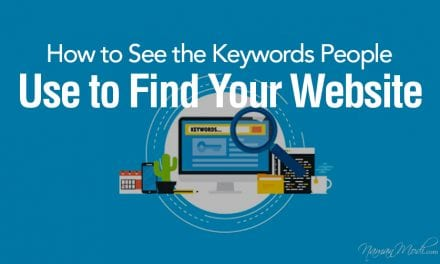 How to See the Keywords People Use to Find Your Website