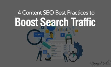 4 Content SEO Best Practices to boost search traffic