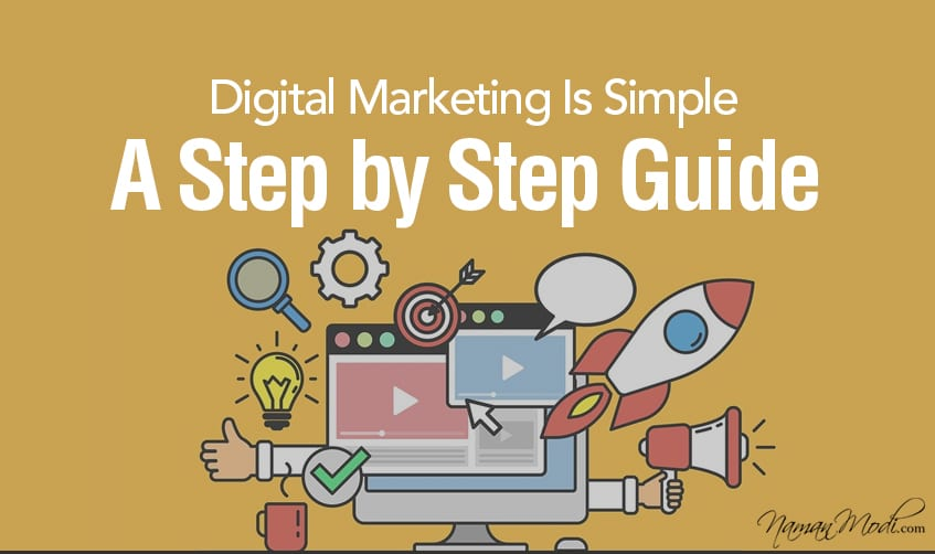 Digital Marketing is Simple: A Step by Step Guide