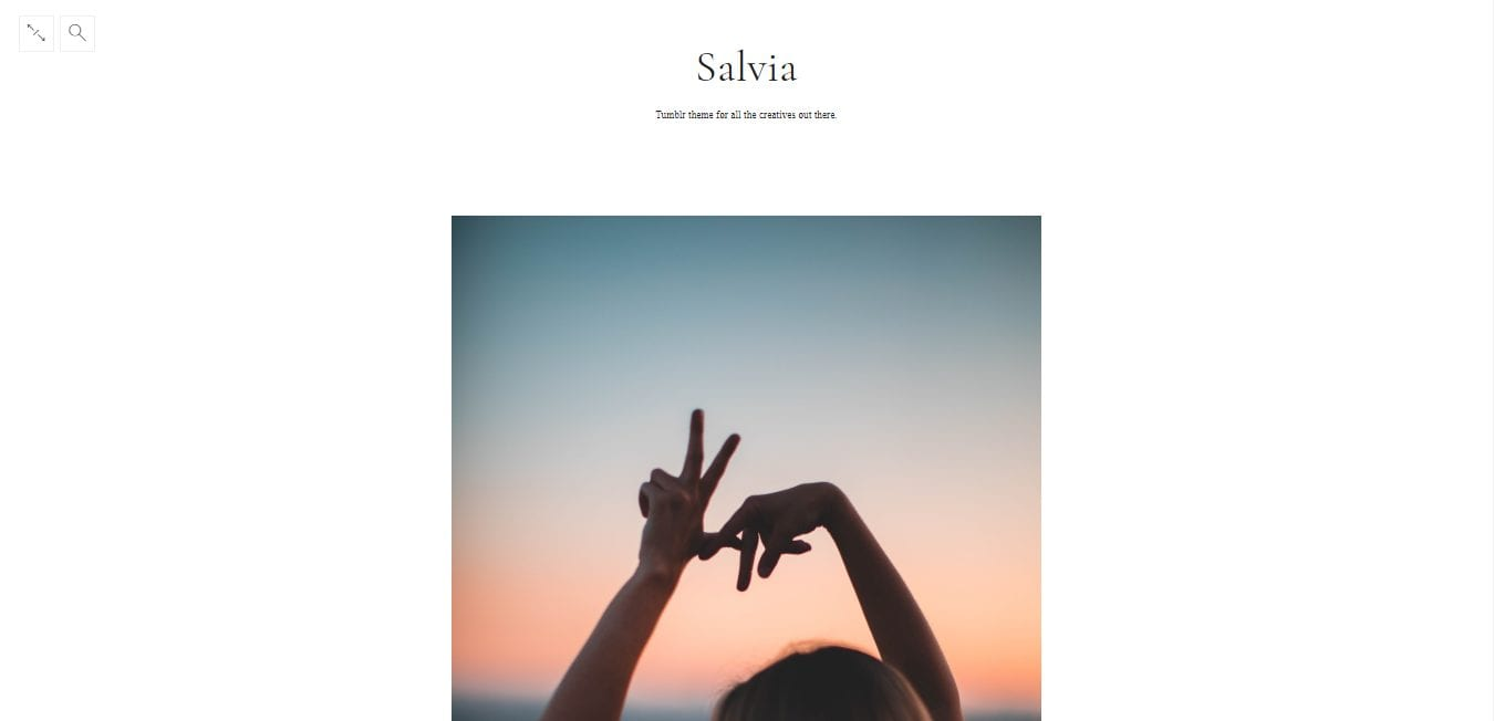Free Tumblr Themes-salvia